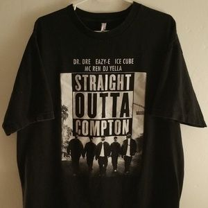 N.W.A. Straight Outta Compton Graphic T Shirt